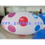 Pvc die de Opblaasbare PromotieBallon van het Helium van Producten adverteren