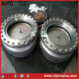 Strainer를 가진 CF8m Stainless Steel Flanged Foot Valve