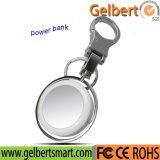 Banco portátil da potência de bateria do telefone móvel de anel chave