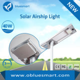 Bluesmart 12-120W Outdoor Light Sensor de movimento integrado LED Garden Street Lamp com painel solar