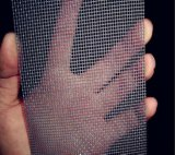 La preuve de couteau antivol d'écran de la fenêtre de sécurité en acier inoxydable/maille de l'écran de sécurité