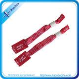 Bracelet tissé par MIFARE promotionnel de coutume de produit