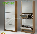 Furniture를 위한 2 Doors Melamine MDF Simple Shoe Cabinet 또는 Shoe Rack/Shoe Ark