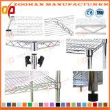 Cromo Ikea Inicio cocina cuarto de baño de almacenamiento de alambre estantería (Zhw155)