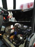 Lader van 08 Wiel van het Ontwerp van Caise CS908 van Csrex de Nieuwe Kleine met Hydraulische rem