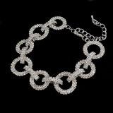 De Armbanden van het Kristal van de luxe voor Armbanden van de Kleur van Vrouwen de Zilveren