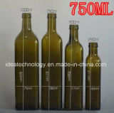 高品質750mlはシャンペンのガラスびんを取り除く