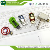Plena capacidad Iron Man USB Flash Drive USB Pen Drive