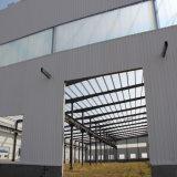 Edifício claro da oficina/armazém da construção de aço do projeto da construção
