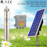 Aço inoxidável 3inch poço profundo Bomba, Bomba Solar Irrigação DC