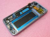 Telefone LCD do móbil/pilha para a borda G935f LCD da galáxia S7 de Samsung completa