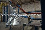O alumínio vertical perfila a planta de revestimento do pó