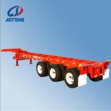 중국 제조 최신 판매 3axle 40FT 해골 콘테이너 수송 트레일러
