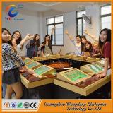 Ecrã táctil Wangdong 12 jogadores de casino máquina de roleta electrónica