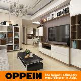 Moderner Entwurfs-kundenspezifischer Lack-hölzerne Küche-Möbel für Hotel (OP15-HOUSE3)
