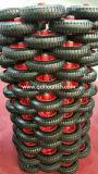 Rodas de borracha pneumático 8'' 2.50-4 pneu dos pneus de borracha