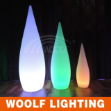 La decorazione della lampada di goccia dell'acqua illumina gli indicatori luminosi della decorazione del giardino del LED