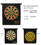 """Home Play magneet ophangen 15"""", 17"""" Double-sides Magnetic Dartboard"""