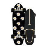 Goedkope Skate Board Deck Groothandel u-vormig Deck Anti-Slip Sand Maple Meerlaags Wood Dancing Longboard Skateboard