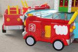 Paseos en familia gracioso tren circular con la extinción de incendios batalla Parque de Atracciones Atracciones para la venta