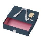 Gaveta de papelão deslizando Dom Bow tie caixa de embalagem de papel Kraft