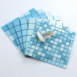 2019NUEVA 48*48mm mezcla azul cielo azulejos para decoración, Cocina, baño y una piscina en mosaico