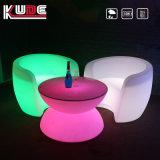 Bar conjunto de móveis Suit-Furniture mobiliário LED cadeira e mesa