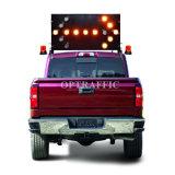 Haut de la qualité 192201K 25 15 feux clignotants LED de la sécurité routière Conseils flèche LED de pliage mobile