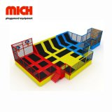 Mich Soft playground coberto trampolim Park Amusement Park