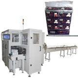 Tecido facial da prensa automática do papel de tecido que empacota a máquina de empacotamento