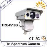 Tri-Спектра камеры блока развертки наблюдения радиотелеграф Onvif поддержки многофункционального термально оптически