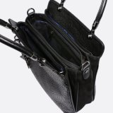 Van Guangzhou van de Fabriek van de Manier het Zwarte Pu Leer van de Ontwerper Dame Handbag