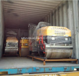 2 ton. de accionamiento hidráulico de suspensión de doble tambor en rodillos de asfalto