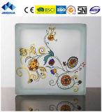 Jinghua artístico de alta calidad P-018 de la pintura de ladrillo y bloque de vidrio