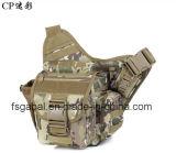 Solo bolso impermeable al aire libre del paquete del pecho del hombro de Camouflagemilitary