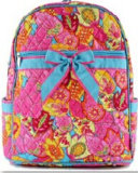 Gestepptes Backpack für Ladys Soem Printed Quilted Backpack Manufacture in China
