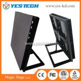 Yestech 저축 에너지 P5 P6mm 옥외 운동 LED 단말 표시