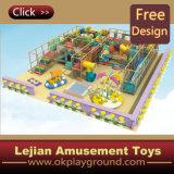 CE Terrain de jeux d'ours Kids Indoor Système de terrain de jeu (T1210-1)