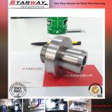 Tornio di CNC dei pezzi meccanici di Cutomerized/macinare/taglio