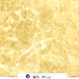 Impression large Rolls de transfert de l'eau de pierre de marbre d'or de Yingcai 1m