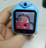 Los niños de 3G del sistema Android Tracker Reloj con memoria de 4G.