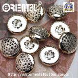 Golden lucido Metal Button 17mm (S-468)