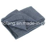 Сплетенное шерстяное смешанное 50%Wool/50%Polyester непредвиденный одеяло беженца