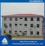 Construcción prefabricada de la estructura de acero de la luz del edificio para el almacén