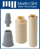 Distribuidor de água inferior e superior para o filtro de água
