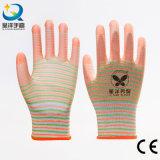 Gants de sécurité en caoutchouc 13G Zebra Polyester