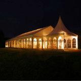 150 Leute-Garten-Zelt mit Pagode-Glas-Tür