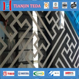 Elevator를 위한 0.6mm Stainless Steel Decorative Sheet