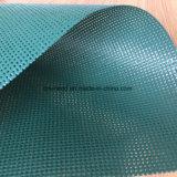 Uneed ha fatto il poliestere ricoperto PVC ingranare il tessuto della tela incatramata in Rolls