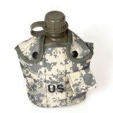 Saco de garrafa de água de 1 litro para militares e escalada